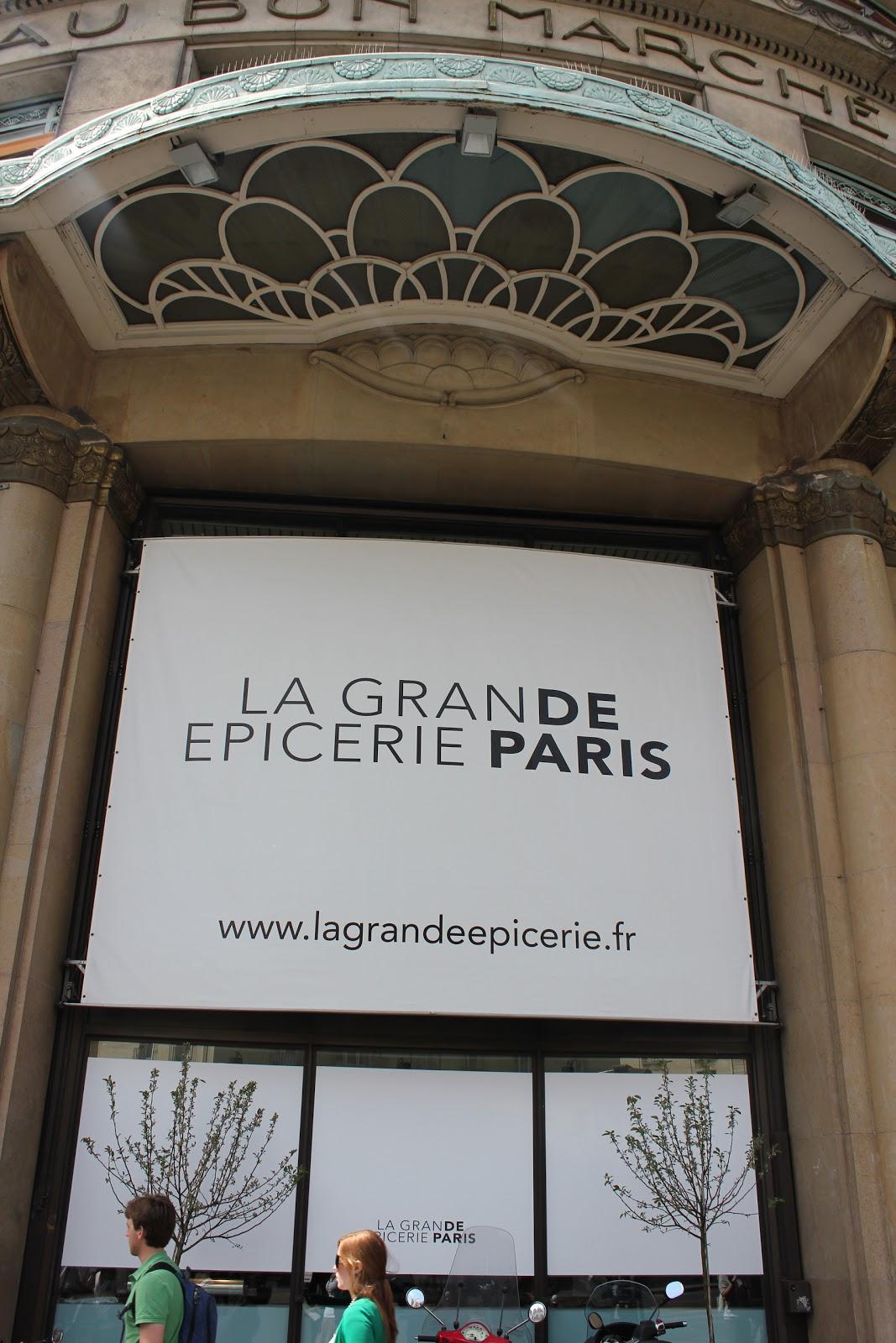 Fleur du poirier my workplace la grande picerie de paris - Epicerie suedoise paris ...