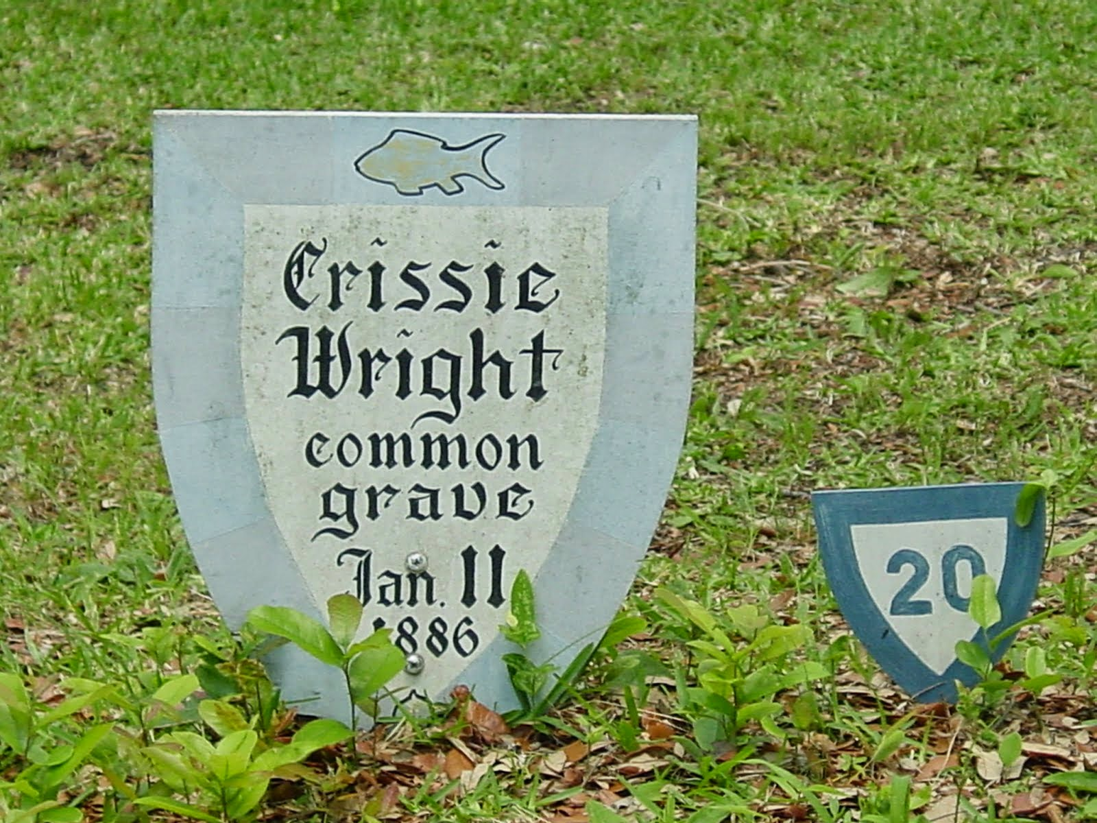 The Crissie Wright Common Grave