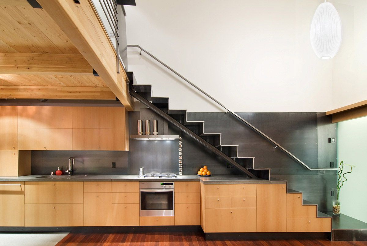 Eko deco andrea elizalde for Kitchen ideas under stairs