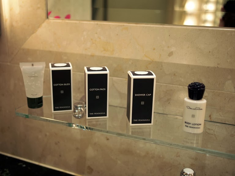 luxury hotel toiletries