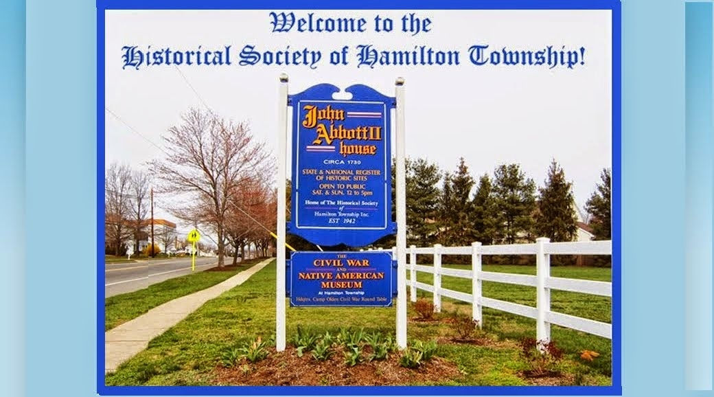 HAMILTON TOWNSHIP HISTORICAL SOCIETY