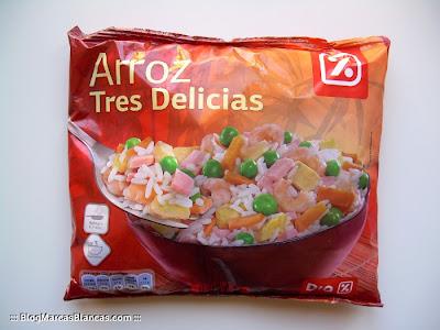 Arroz tres delicias DIA