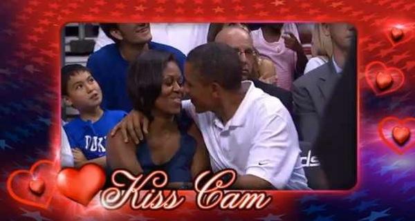 kyss cam video suksess