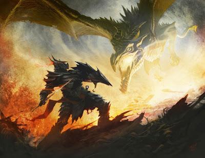 The Giant/Dragon War Elder%20scrolls%20skyrim%20concept%20art%20dragon