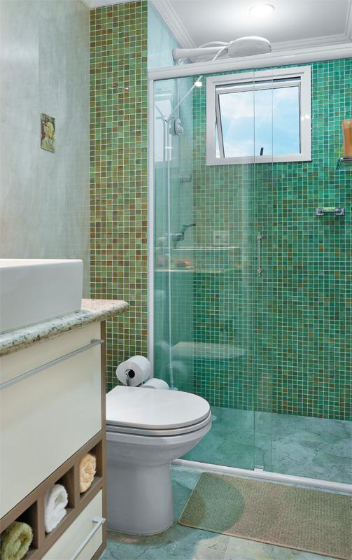 Banheiros Decorados Pastilhas de Vidro  CONTATO (27) 98581936 Adão  Adão ac -> Banheiro Pequeno Com Pastilhas De Vidro