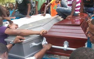 Consternación en Galván; sepultan jóvenes fallecieron en accidente de tránsito ayer