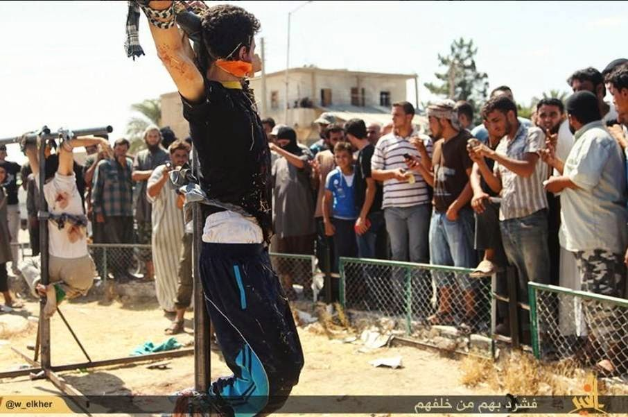 Christians being beheaded in syria