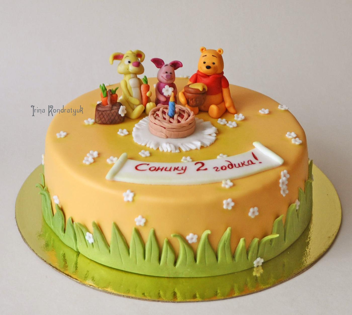 Рукоделки irko торт винни и друзья