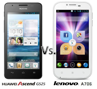 Ascend G525 vs Intelligent and Smart, Lenovo A706. What is your pick