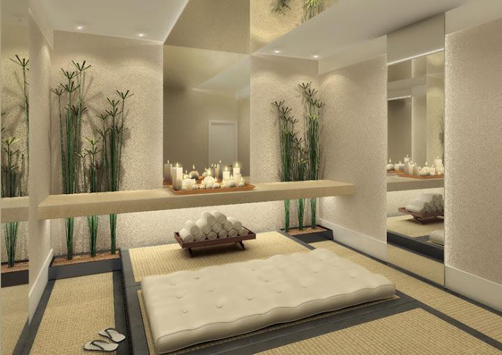 arte e design sala de massagem. Black Bedroom Furniture Sets. Home Design Ideas