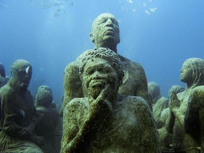 parque escultórico subacuatico