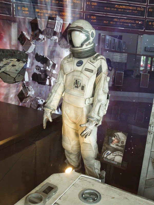 Interstellar NASA spacesuit