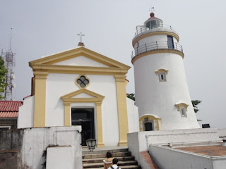Lighthouse da Guia and Chapel da Guia in Macao