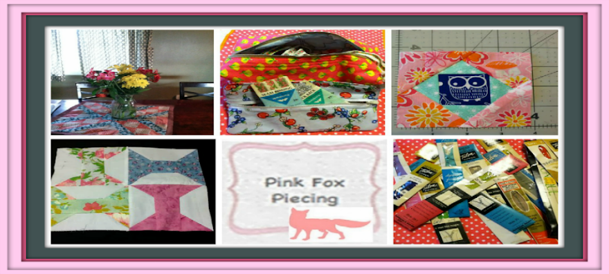 Pink Fox Piecing