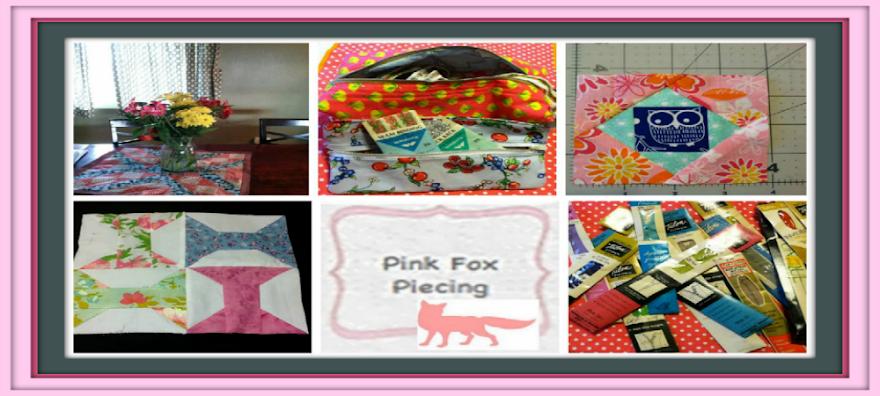Pink Fox Piecing