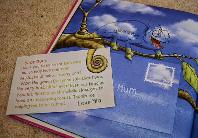 Letter from Dear Mum, I Love You by Ed Allen and Simon Williams