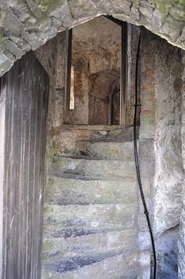 Staircase at Pembroke Castle