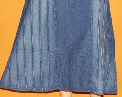 Skirt Jeans Panjang