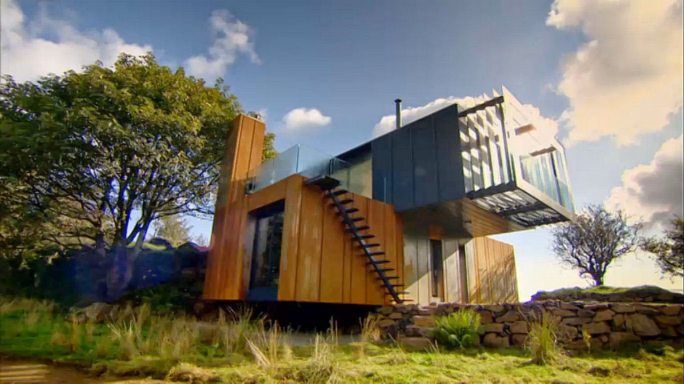 Roj fashion lifestyle grand designs stunning for Architecture container