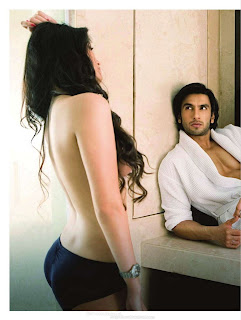 Sonali Raut and Ranveer Singh Picture Shoot for Maxim December, 2011