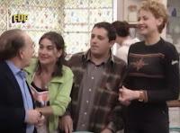 Pedro Peña, Luisa Martín, Pepón Nieto y Esther Arroyo como Manolo, Matías, José Antonio y Ali