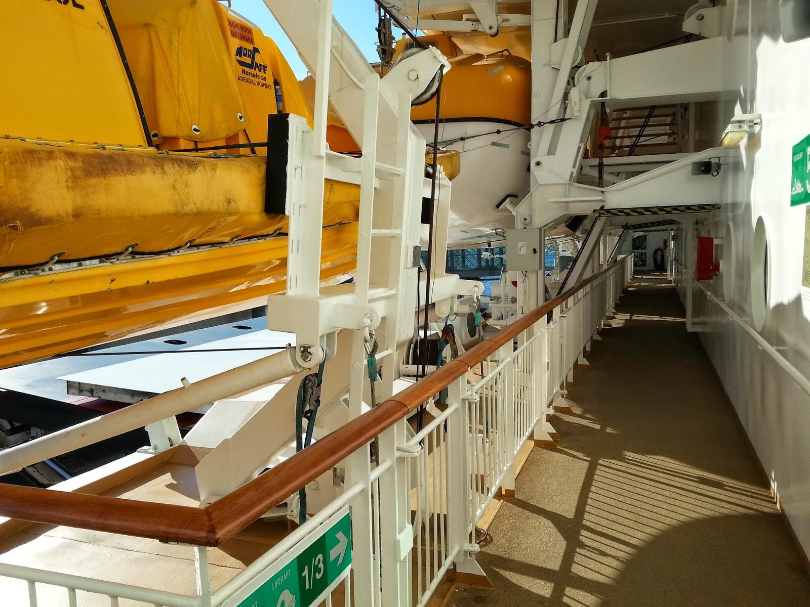 Hurtigruten MS Midnatsol - Lifeboats