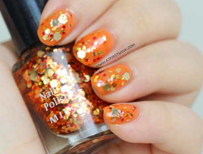 Missha The Style nail polish Gem Stone - Citrine