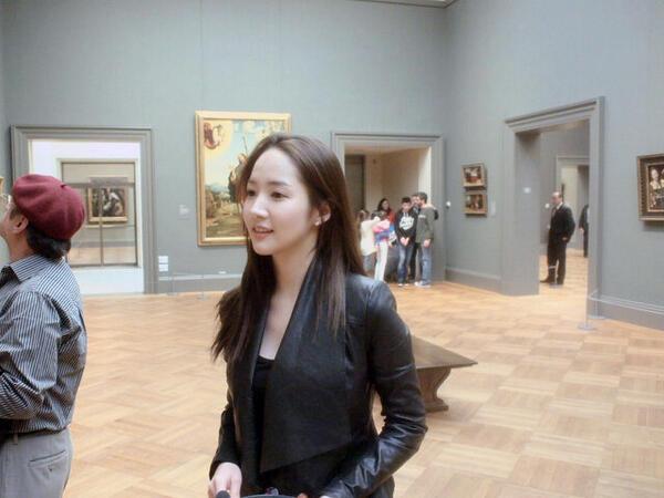 Foto Terbaru Artis Cantik Park Min Young
