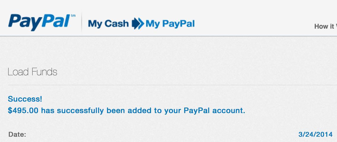Relentless Financial Improvement PayPal Business Debit