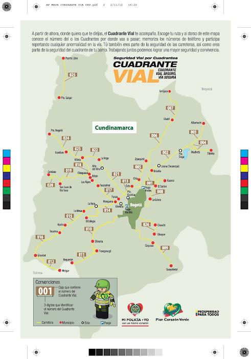 EN LAS VACACIONES 2012 - 2012 SEGURIDAD VIAL POR CUADRANTES