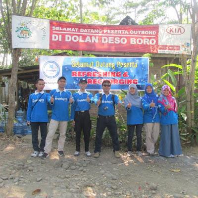 Meriahnya Outbond di Dolan Desa Kalibawang Kulon Progo