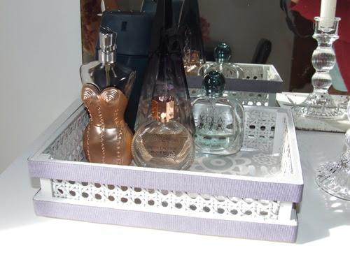 Bandeja para perfumes