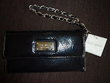 NINE WEST CHECKBOOK WALLET SECRETARY