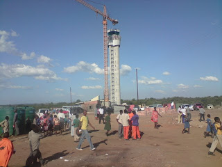 Construction of Swaziland Sikhuphe International Airport Tower