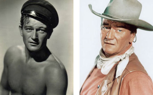 John+Wayne Real names of famous people (10 pics)