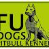 ออกแบบโลโก้ Fu Dogs Pitbull Kennel