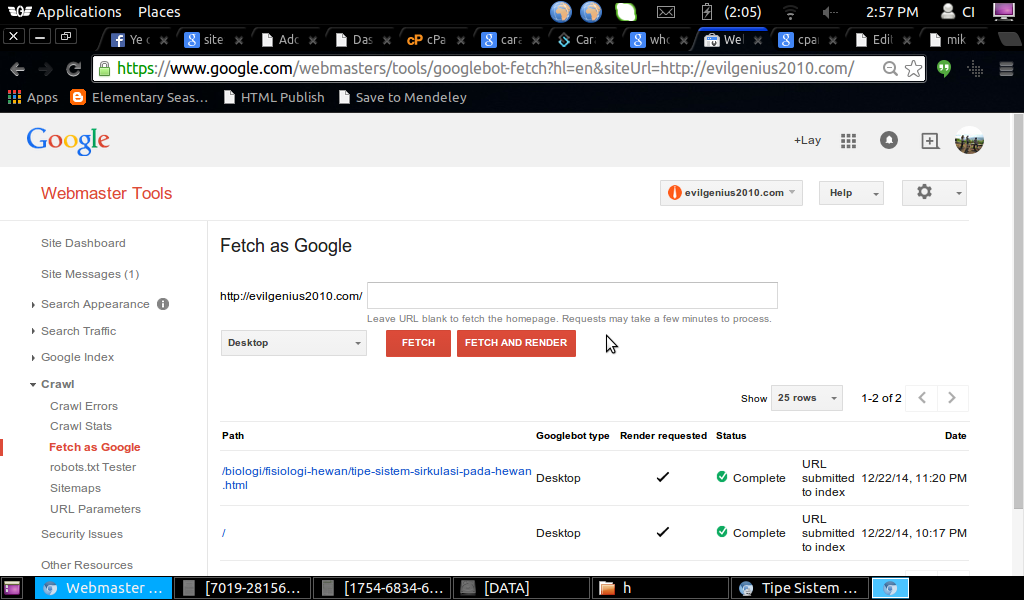 cara mengindex artikel di google dengan cepat