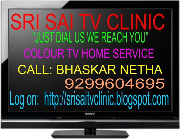 TV Repairs and Services in Hyderabad by Sri Sai TV Clinic