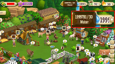 Now u can have 2.000.000 water in FarmVille 2