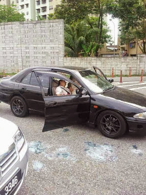 Kes Berbalas Tembakan Di Lebuhraya Duke 2013
