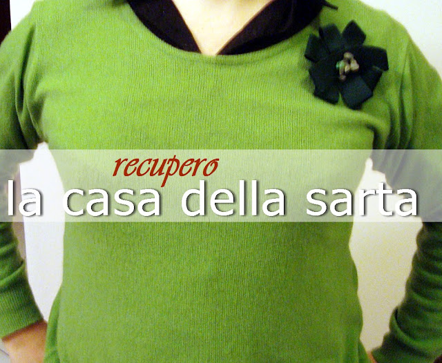 recuperare una maglie verde