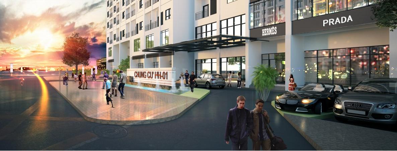 Chung cư HH01 Complex Building Nam Cường Dương Nội