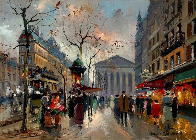 Antoine Blanchard Paris Painting Tutt Art Pittura