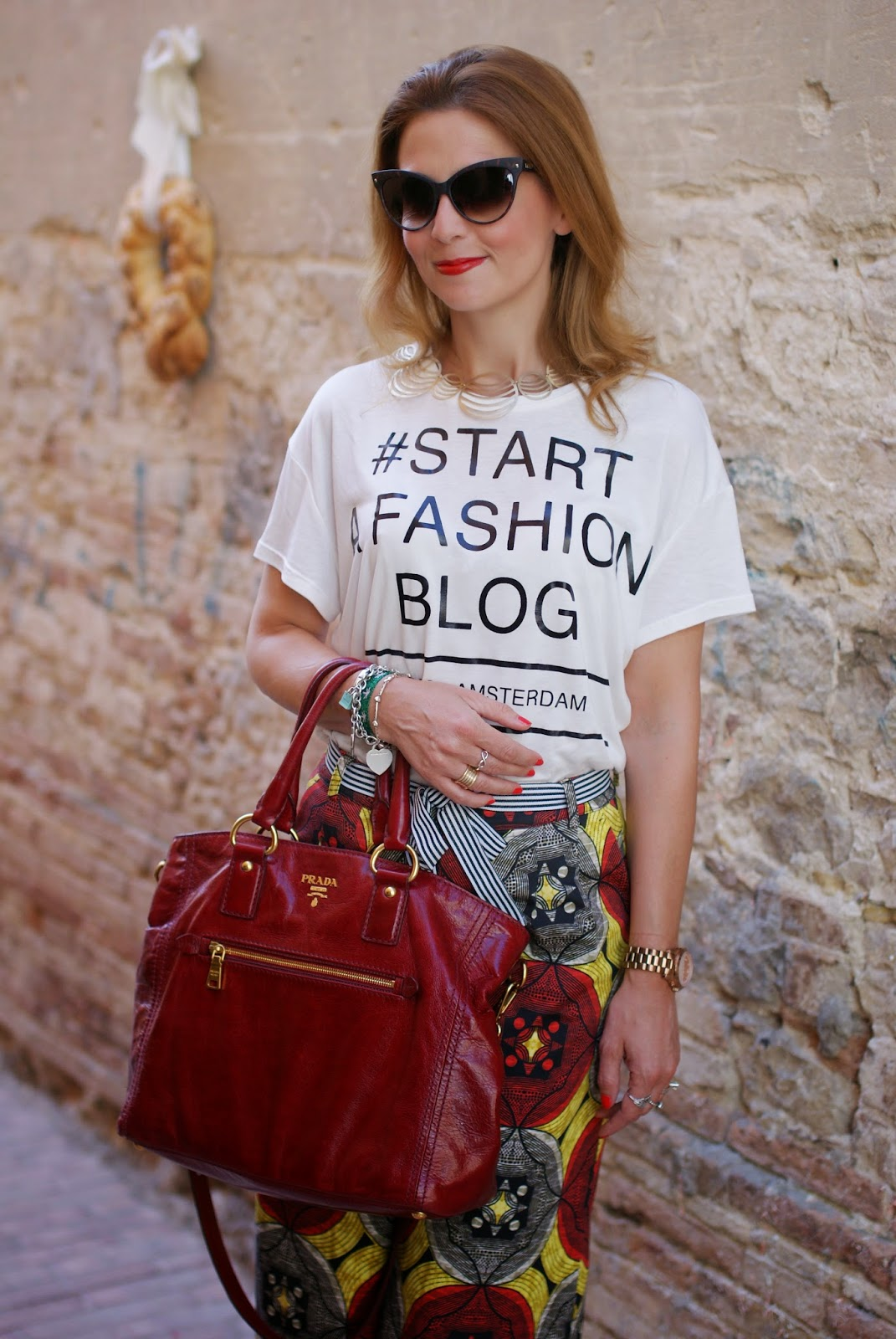 fashion blog t-shirt, culottes trend, Fashion and Cookies, fashion blogger