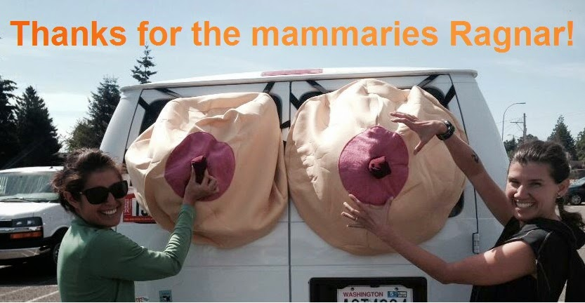 Ragnar Northwest Passage - Thanks for the mammaries!
