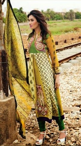 Amna Ismail Midsummer Eid Imperial Lawn Collection 2014