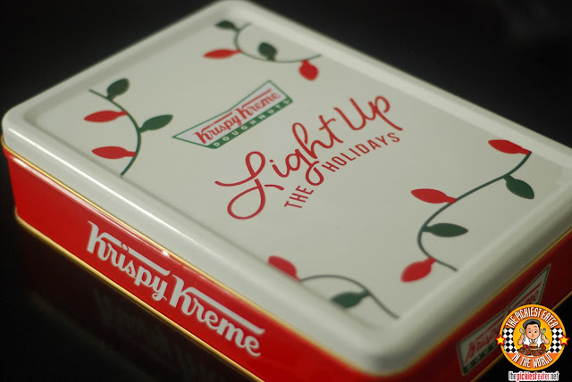 krispy kreme holiday tin can