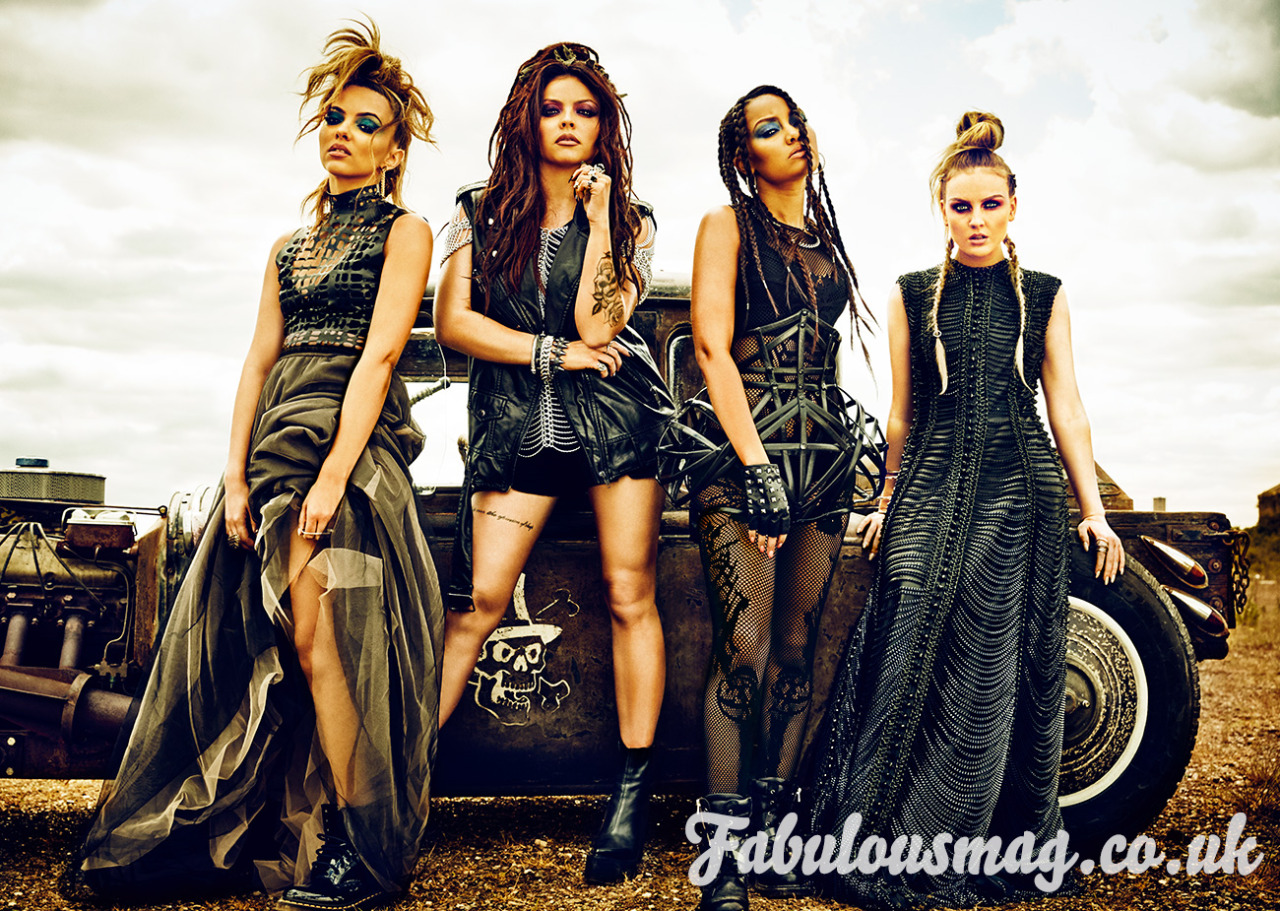 Spain Little Mix Hq Little Mix Para Fabulousmag 2015