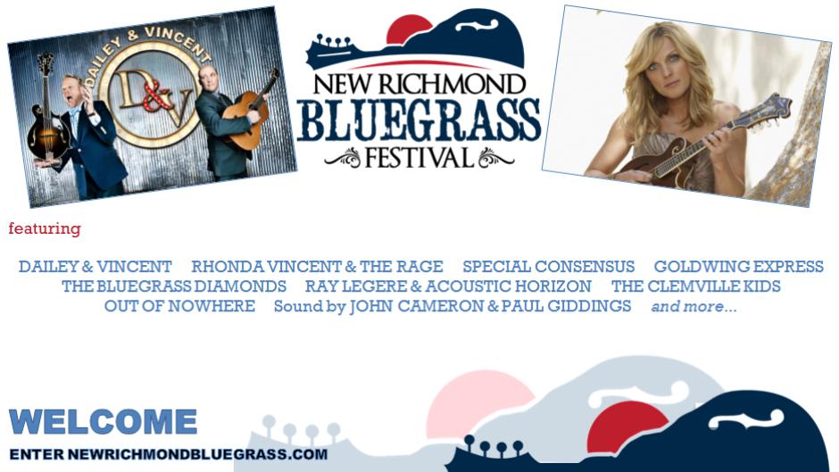New Richmond Bluegrass Festival