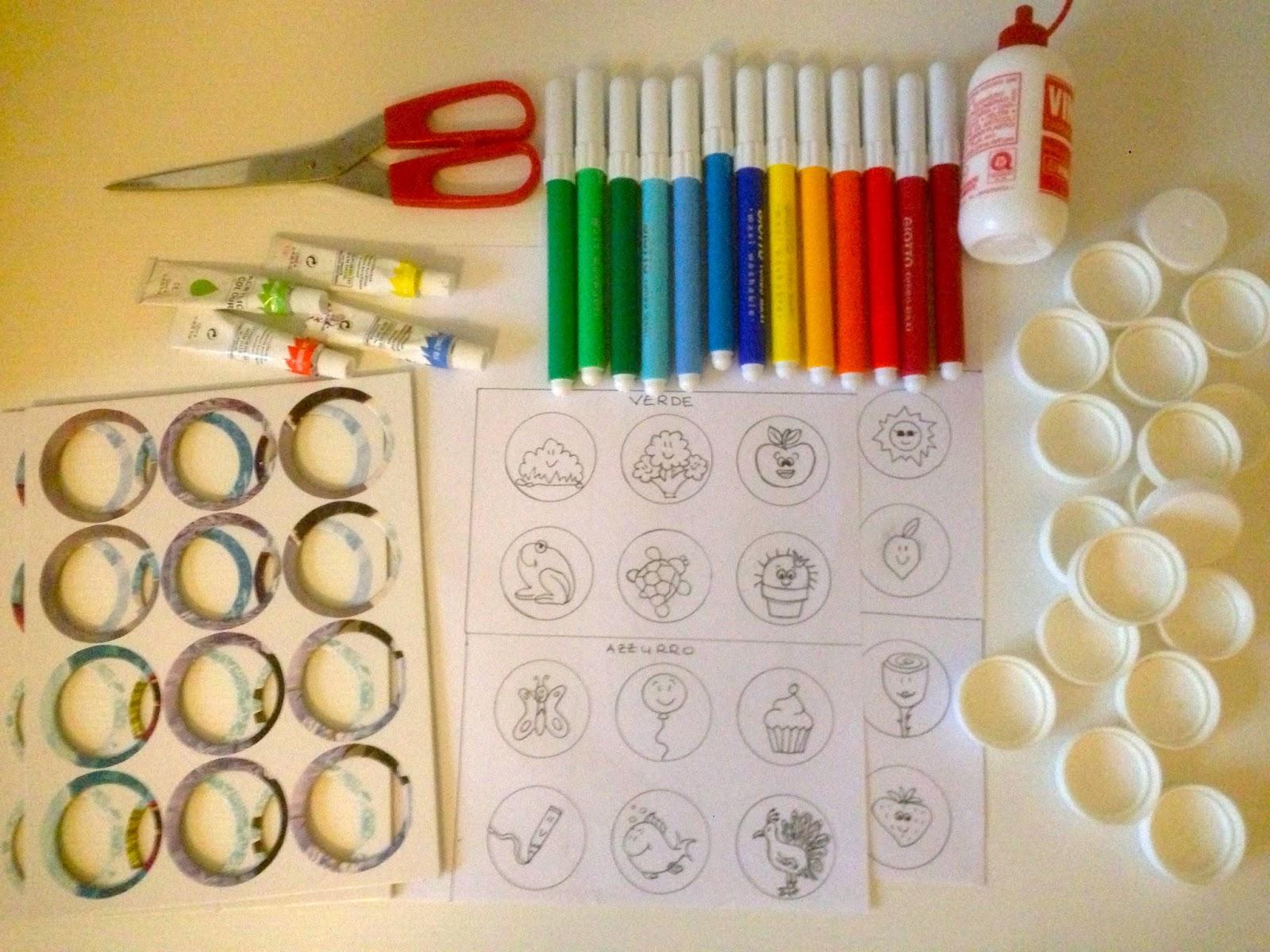 mangia leggi crea: tombola per bambini fai da te - tutorial